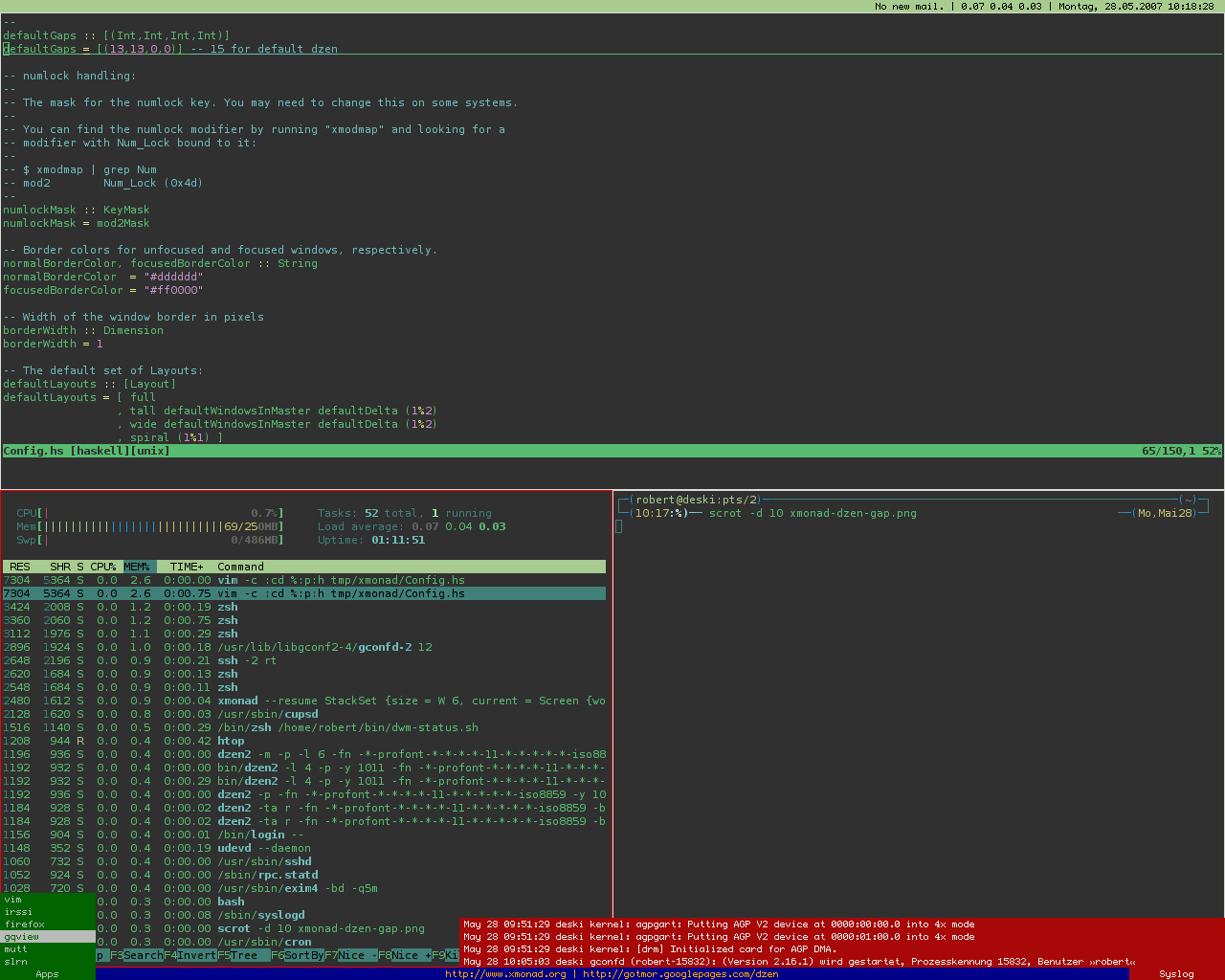 desktop manager windows 7